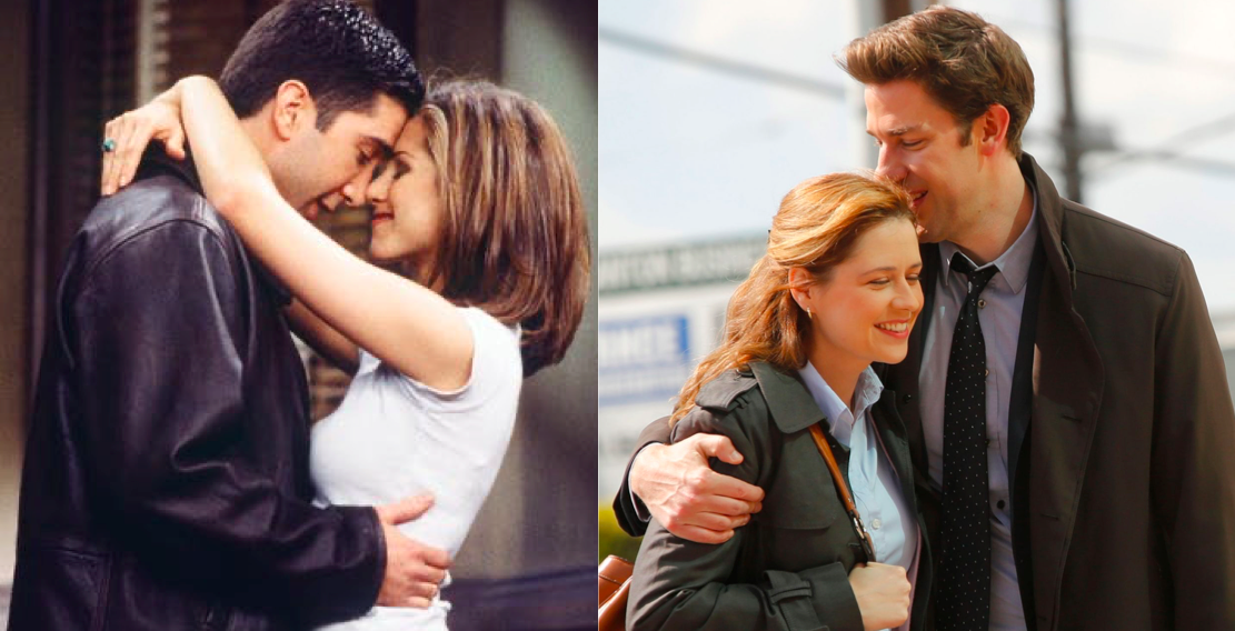 Which Sitcom Couple are you? 'Friends' vs 'The Office' edition!