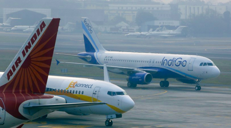 Indian Domestic Airlines Allowed to Operate 60% of Pre-COVID Flights Till February 24