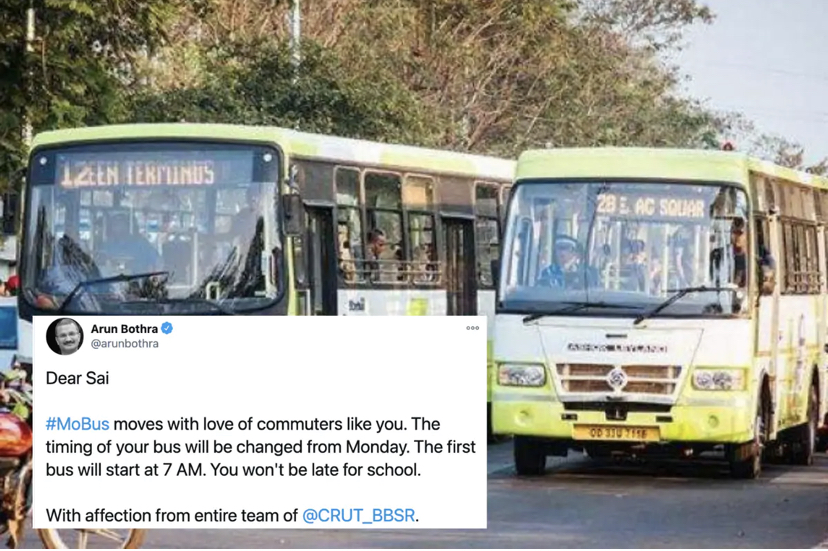 Odisha Transport Department Changed Bus Timings after Boy Complained of Getting Late for School