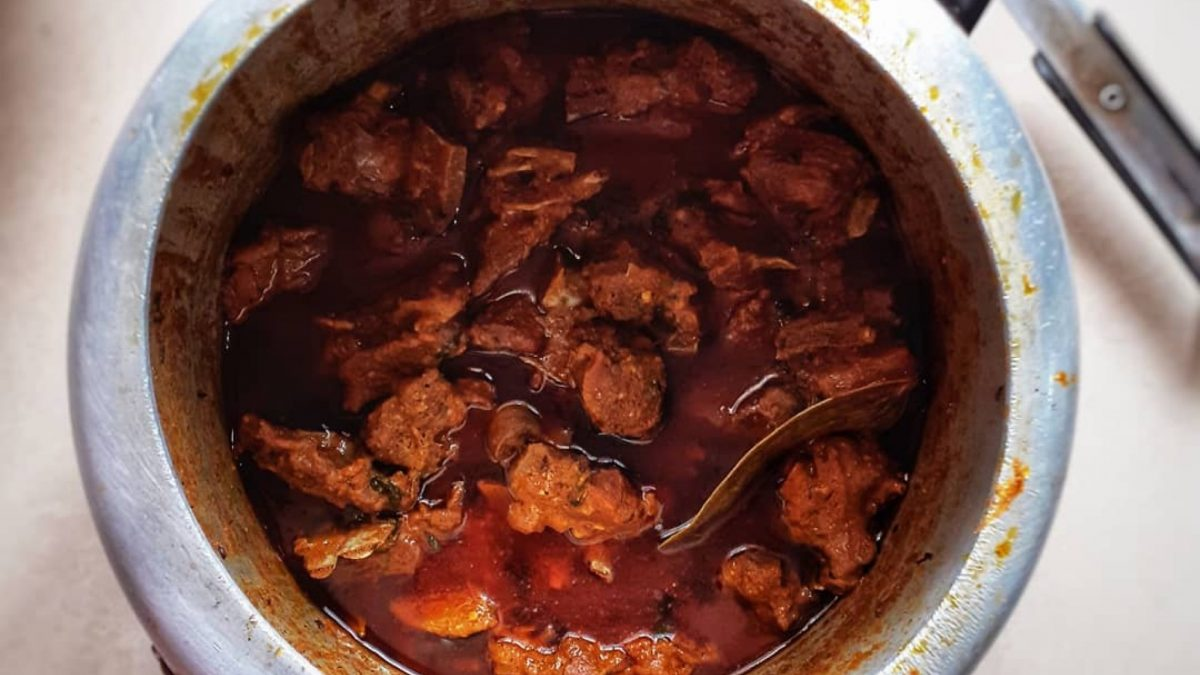 The Classic Odia Sunday Mutton Lunch
