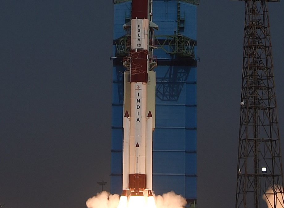 """ISRO """"Successfully"""" Launches Brazil's Amazonia-1, 18 Other Satellites With PSLV C51"""