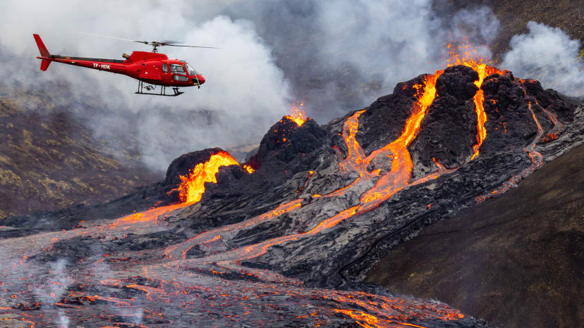 Dormant Volcano in Iceland Erupts After 6,000 Years
